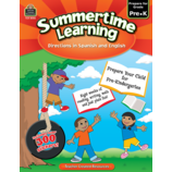 Summertime Learning Grade PreK - Spanish Directions