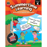 Summertime Learning Grade K - Spanish Directions
