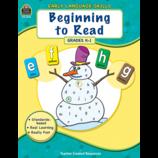 Early Language Skills: Beginning to Read