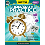Minutes to Mastery - Timed Math Practice Grade 6