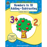 Early Math Skills: Numbers to 10-Adding-Subtracting