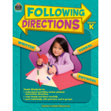 Following Directions Grade K