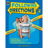 Following Directions Grade 6