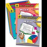 Daily Warm-Ups: Math Set (8 bks)