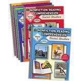 Nonfiction Reading Comprehension Set: Soc Studies (6 books)
