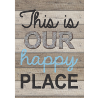 This Is Our Happy Place Positive Poster
