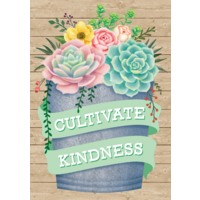 Cultivate Kindness Positive Poster