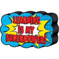Superhero Magnetic Whiteboard Eraser
