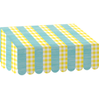 Lemon Zest Awning