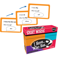 I Have, Who Has Sight Words Game Grade K