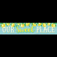 Lemon Zest Our Sweet Place Banner