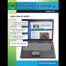 TCR2768 Internet Literacy Grade 6-8