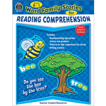 TCR2933 Word Family Stories for Reading Comprehension Grade K-1