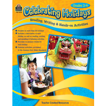 TCR3178 Celebrating Holidays: Reading, Writing & Hands-on Activities