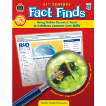 TCR3493 21st Century Fact Finds: Using Online Research Tools to Reinforce Common Core Skills- Grade 4
