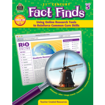 TCR3494 21st Century Fact Finds: Using Online Research Tools to Reinforce Common Core Skills- Grade 5