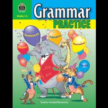 TCR3620 Grammar Practice for Grades 1-2