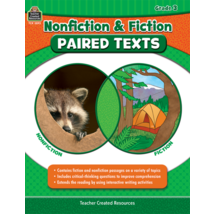 TCR3893 Nonfiction and Fiction Paired Texts Grade 3