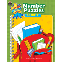 TCR3909 Number Puzzles Grade 4