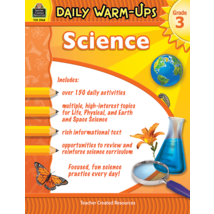 TCR3968 Daily Warm-Ups: Science Grade 3