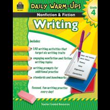 TCR3977 Daily Warm-Ups: Nonfiction & Fiction Writing Grade 4