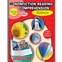 TCR8026 Nonfiction Reading Comprehension: Science, Grades 1-2