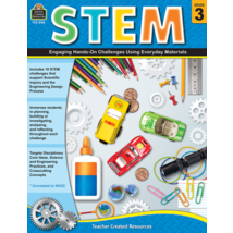 TCR8183 STEM: Engaging Hands-On Challenges Using Everyday Materials Grade 3