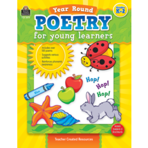 TCR8979 Year Round Poetry for Young Learners