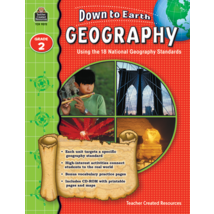 TCR9272 Down to Earth Geography, Grade 2