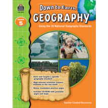 TCR9275 Down to Earth Geography, Grade 5