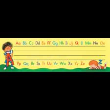 Alphabet Flat Name Plates