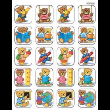 School Bears Stickers