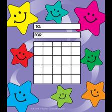 Happy Stars Incentive Charts