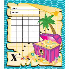 Treasure Chest Incentive Charts
