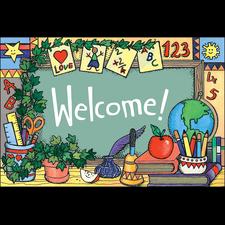 School Tools (Welcome) Postcards