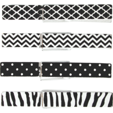 Black & White Clothespins