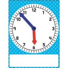 Magnetic Foam Geared Clock - Large