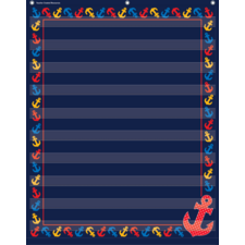 Anchors 10 Pocket Chart