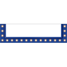 Dark Blue Marquee Magnetic Pockets - Small