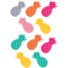 Tropical Punch Pineapples Accents
