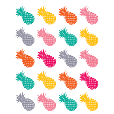 Tropical Punch Pineapples Stickers