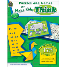 Puzzles and Games that Make Kids Think Grade 3
