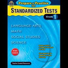 Prepare & Practice for Standardized Tests Grade 1