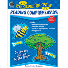 Word Family Stories for Reading Comprehension Grade K-1