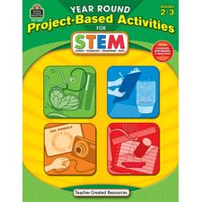 Year Round Project-Based Activities for STEM Grade 2-3