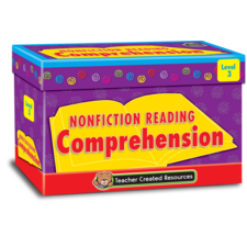 Nonfiction Reading Comprehension Cards Level 3