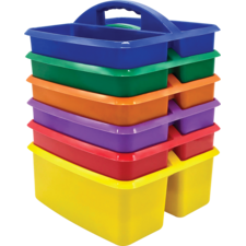 Primary Colors Storage Caddies Set 6-Pack