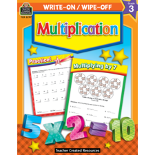 Multiplication Write-On Wipe-Off Book