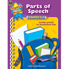 Parts of Speech Grades 3-4