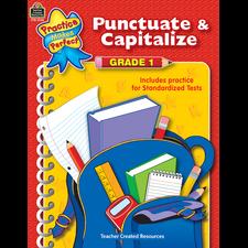 Punctuate & Capitalize Grade 1